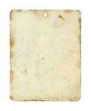 Φύλλο ετικεττών μετάλλων Στοκ φωτογραφία με δικαίωμα ελεύθερης χρήσης