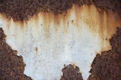 Φύλλο σιδήρου σκουριάς Στοκ Φωτογραφία