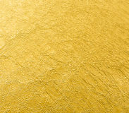 Φύλλο του χρυσού υποβάθρου φύλλων φύλλων αλουμινίου Στοκ φωτογραφίες με δικαίωμα ελεύθερης χρήσης