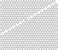 Φύλλο Graphene που διαιρείται σε δύο μέρη με μια γέφυρα Στοκ εικόνα με δικαίωμα ελεύθερης χρήσης