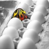 Φλεμένος αυγό Στοκ Εικόνα