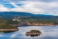 Φλεμένος δεξαμενή φαραγγιών Στοκ φωτογραφία με δικαίωμα ελεύθερης χρήσης