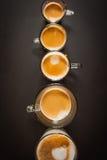 Φλιτζάνια του καφέ Στοκ Εικόνες
