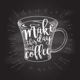 Φλιτζάνι του καφέ doodle Στοκ φωτογραφία με δικαίωμα ελεύθερης χρήσης
