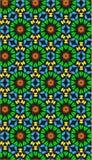 Φλογερό διάνυσμα λουλουδιών Στοκ Φωτογραφίες