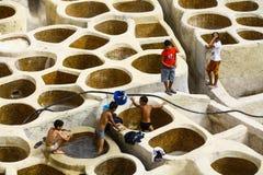 φλοιός του Fez Μαρόκο Στοκ Εικόνα