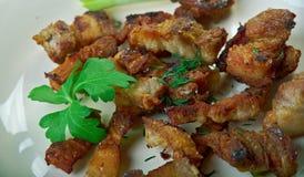 Φλοιός χοιρινού κρέατος Στοκ Φωτογραφίες
