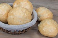 Φλοιώδεις ρόλοι ψωμιού Στοκ Εικόνες
