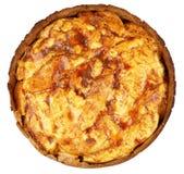 Φλοιώδης πίτα κυδωνιών στοκ φωτογραφία με δικαίωμα ελεύθερης χρήσης