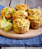 Φλοιώδη muffins φρούτων Στοκ φωτογραφία με δικαίωμα ελεύθερης χρήσης