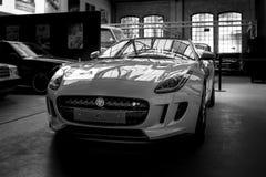 Φ-τύπος ιαγουάρων αθλητικών αυτοκινήτων Στοκ Φωτογραφία