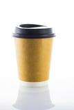 Φλυτζάνια καφέ εγγράφου Στοκ εικόνες με δικαίωμα ελεύθερης χρήσης