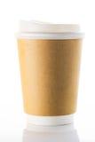 Φλυτζάνια καφέ εγγράφου Στοκ Εικόνες