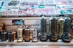 Φλυτζάνια τσαγιού στη Ιστανμπούλ Στοκ Εικόνες