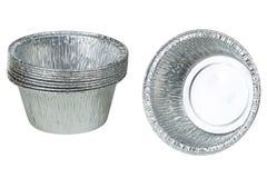 Φλυτζάνια φύλλων αλουμινίου Στοκ φωτογραφία με δικαίωμα ελεύθερης χρήσης
