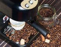 φλυτζάνι καφέ ισχυρό Στοκ εικόνες με δικαίωμα ελεύθερης χρήσης