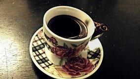 Φλυτζάνι καφέ κεριών Στοκ Εικόνες