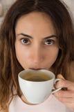 φλυτζάνι καφέ που έχει τη γ& Στοκ Φωτογραφία