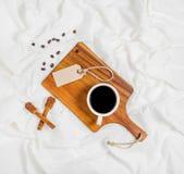 φλυτζάνι καφέ που έχει Στοκ Εικόνες