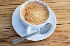 Φλυτζάνι καφέ του cappuccino Στοκ Εικόνες