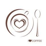Φλυτζάνι 3 καφέ απεικόνιση αποθεμάτων
