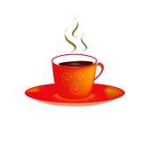 Φλυτζάνι καφέ διανυσματική απεικόνιση