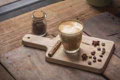 φλυτζάνι καφέ latte Στοκ Φωτογραφία