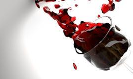 Φλυτζάνι κρασιού Στοκ Φωτογραφίες