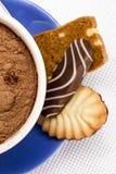 Φλυτζάνι με τα μπισκότα Στοκ Φωτογραφίες
