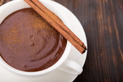 φλυτζάνι σοκολάτας καυτό Στοκ φωτογραφία με δικαίωμα ελεύθερης χρήσης