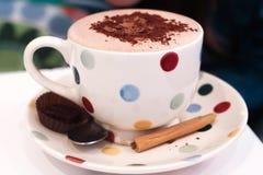 φλυτζάνι σοκολάτας καυτό Στοκ Φωτογραφία