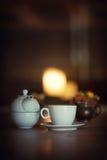 Φλυτζάνι του τσαγιού - έννοια τσαγιού Στοκ Φωτογραφίες