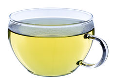Φλυτζάνι του τσαγιού, πράσινο ιαπωνικό τσάι sencha Στοκ εικόνα με δικαίωμα ελεύθερης χρήσης