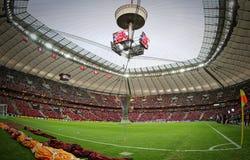 Φλυτζάνι τροπαίων UEFA Ευρώπη Laegue Στοκ φωτογραφίες με δικαίωμα ελεύθερης χρήσης