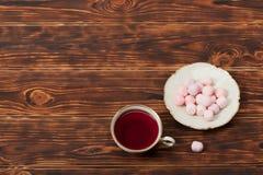 Φλυτζάνι τσαγιού και πιάτο του λεπτού κόκκαλου Κίνα Στοκ φωτογραφία με δικαίωμα ελεύθερης χρήσης