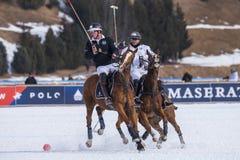 Φλυτζάνι 2017 Sankt Moritz πόλο χιονιού Στοκ εικόνες με δικαίωμα ελεύθερης χρήσης