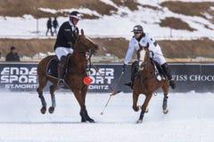 Φλυτζάνι 2017 Sankt Moritz πόλο χιονιού Στοκ Φωτογραφίες