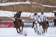 Φλυτζάνι 2017 Sankt Moritz πόλο χιονιού Στοκ Εικόνες
