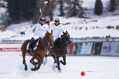 Φλυτζάνι 2017 Sankt Moritz πόλο χιονιού Στοκ φωτογραφίες με δικαίωμα ελεύθερης χρήσης