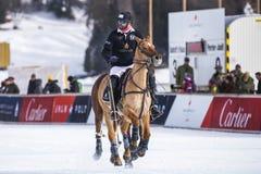 Φλυτζάνι 2017 Sankt Moritz πόλο χιονιού Στοκ φωτογραφία με δικαίωμα ελεύθερης χρήσης