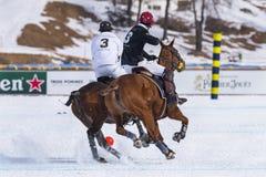 Φλυτζάνι 2017 Sankt Moritz πόλο χιονιού Στοκ Φωτογραφία