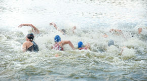 Φλυτζάνι Triathlon της Ουκρανίας και φλυτζάνι Bila Tserkva 24 Ιουλίου 2016 στοκ εικόνες