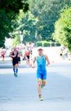Φλυτζάνι Triathlon της Ουκρανίας και φλυτζάνι Bila Tserkva 24 Ιουλίου 2016 Στοκ φωτογραφία με δικαίωμα ελεύθερης χρήσης