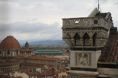 Φλωρεντία - άποψη της πόλης Στοκ φωτογραφίες με δικαίωμα ελεύθερης χρήσης