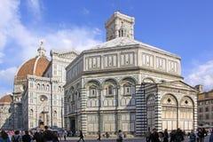 Φλωρεντία Ιταλία Βαπτιστήριο της Φλωρεντίας στοκ εικόνα με δικαίωμα ελεύθερης χρήσης