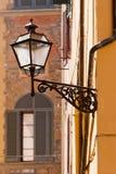 Φλωρεντία, Ιταλία, στενός επάνω λαμπτήρων οδών Στοκ φωτογραφία με δικαίωμα ελεύθερης χρήσης