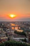 Φλωρεντία Ιταλία της Φλωρεντίας Στοκ Φωτογραφίες