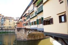 Φλωρεντία Ιταλία vecchio Ponte στοκ εικόνες