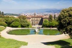 Φλωρεντία, κήποι Boboli στοκ εικόνες με δικαίωμα ελεύθερης χρήσης