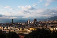 Φλωρεντία στην Ιταλία Στοκ Εικόνες